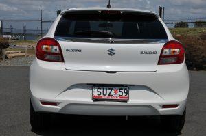 Suzuki Baleno GLX Backside