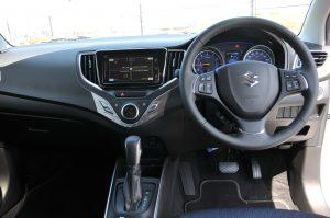 Suzuki Baleno GLX Interior